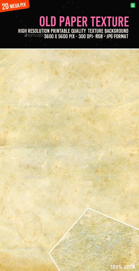 Old Paper Texture 111 - Paper Textures