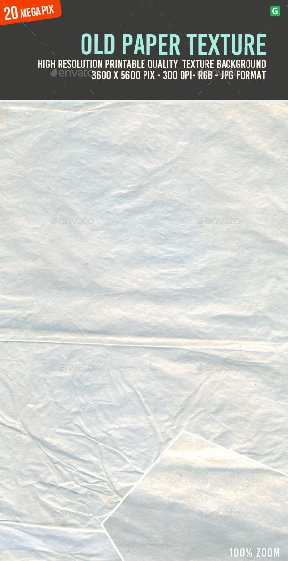 Old Paper Texture 107 - Paper Textures