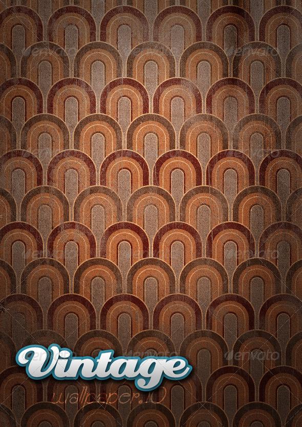 Vintage Wallpaper .10 - Patterns Backgrounds
