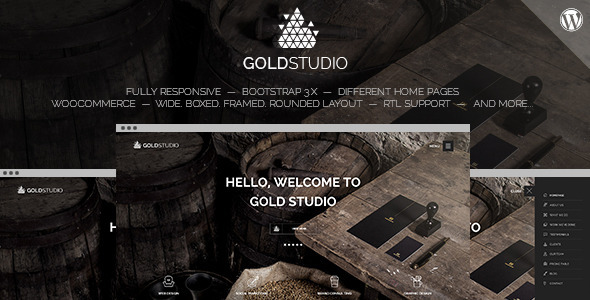 Gold – WooCommerce One Page Multi-Purpose Theme