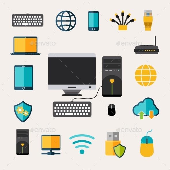 Network Gadget Set - Computers Technology