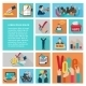 Elections Flat Icons Set - GraphicRiver Item for Sale