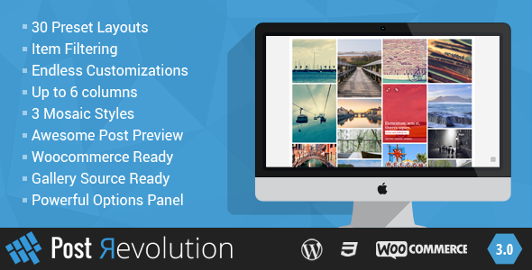 Post Revolution - Amazing Grid Builder for WP - CodeCanyon Item for Sale