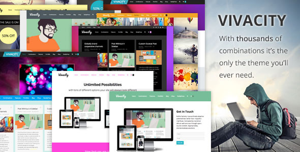 Vivacity: Multi-Purpose Responsive Theme