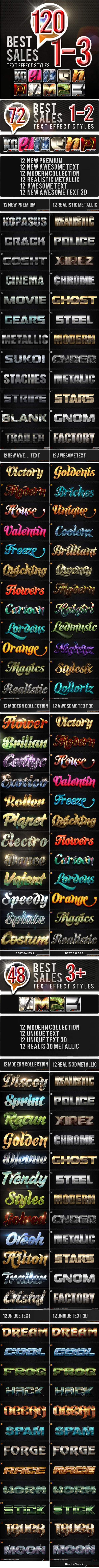 120 Sales_1-3 Bundle - Text Effects Styles