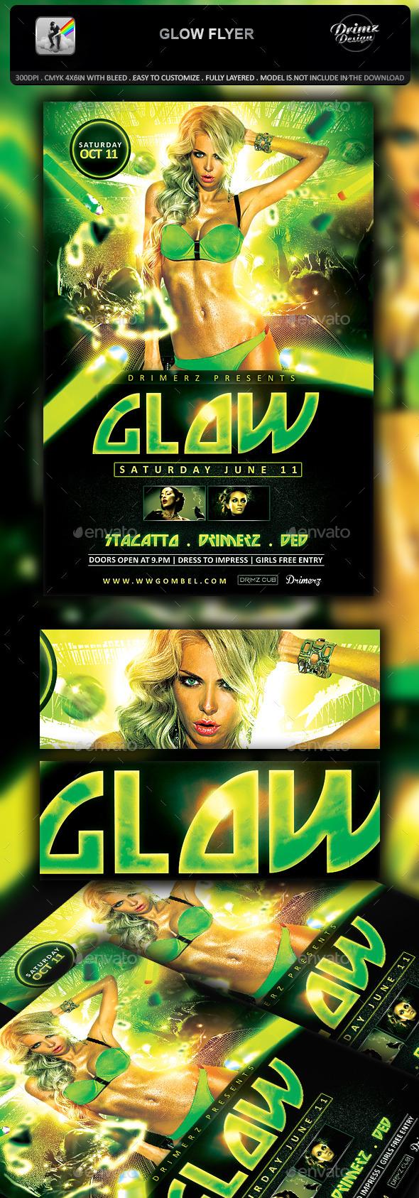 Glow Flyer - Events Flyers