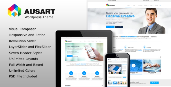 Ausart – Multi-Purpose Business Theme