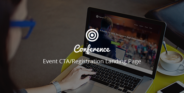 Conference – Event CTA/Registration Landing Page