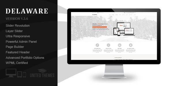 Delaware – Responsive Retina WordPress Theme