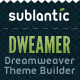 Dweamer - Dreamweaver Theme Builder - CodeCanyon Item for Sale