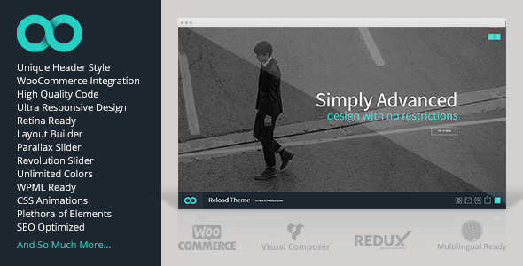 Reload – Responsive Multi-Purpose Theme
