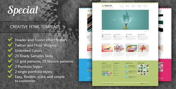 Special - Neat Creative Portfolio HTML Template - Portfolio Creative