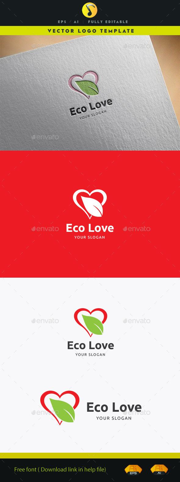 Eco Love II - Nature Logo Templates