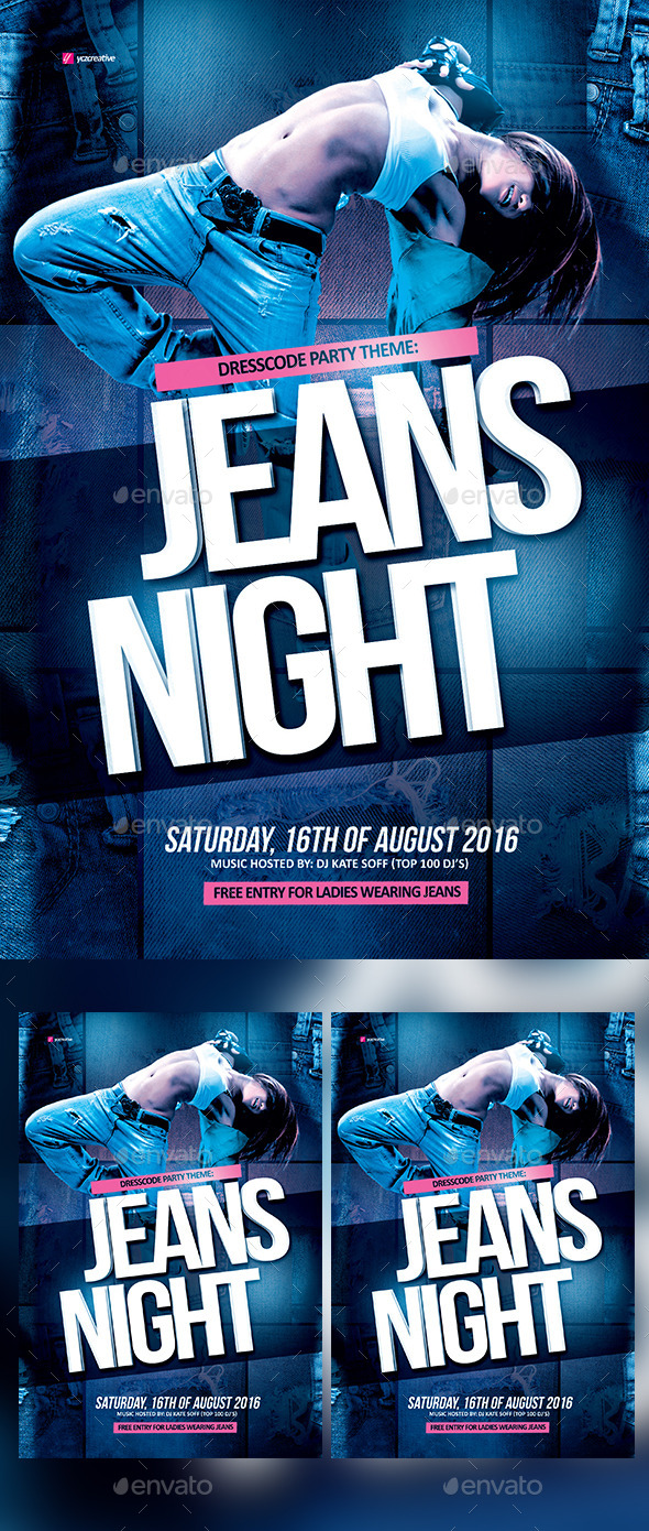jeans night theme by yczcreative