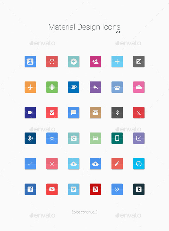 Material Design Icons - Icons
