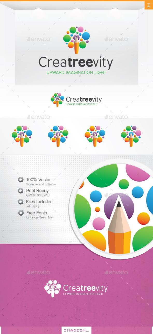 Creative Tree Logo - Symbols Logo Templates