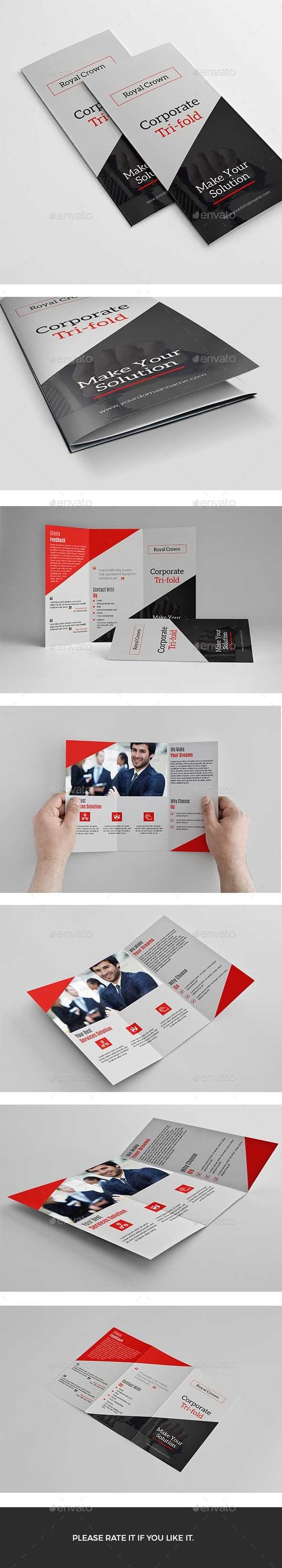 Trifold - Brochures Print Templates