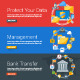 Internet Security Bank Transfer and Management - GraphicRiver Item for Sale