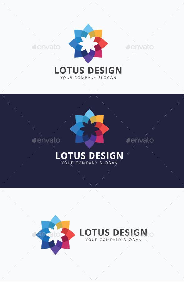 Lotus Design - Abstract Logo Templates