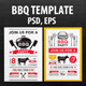 Bbq Party Invitation - GraphicRiver Item for Sale