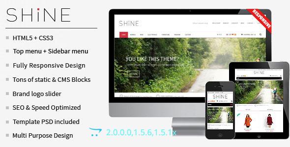 Shine – Responsive Multipurpose OpenCart  Theme