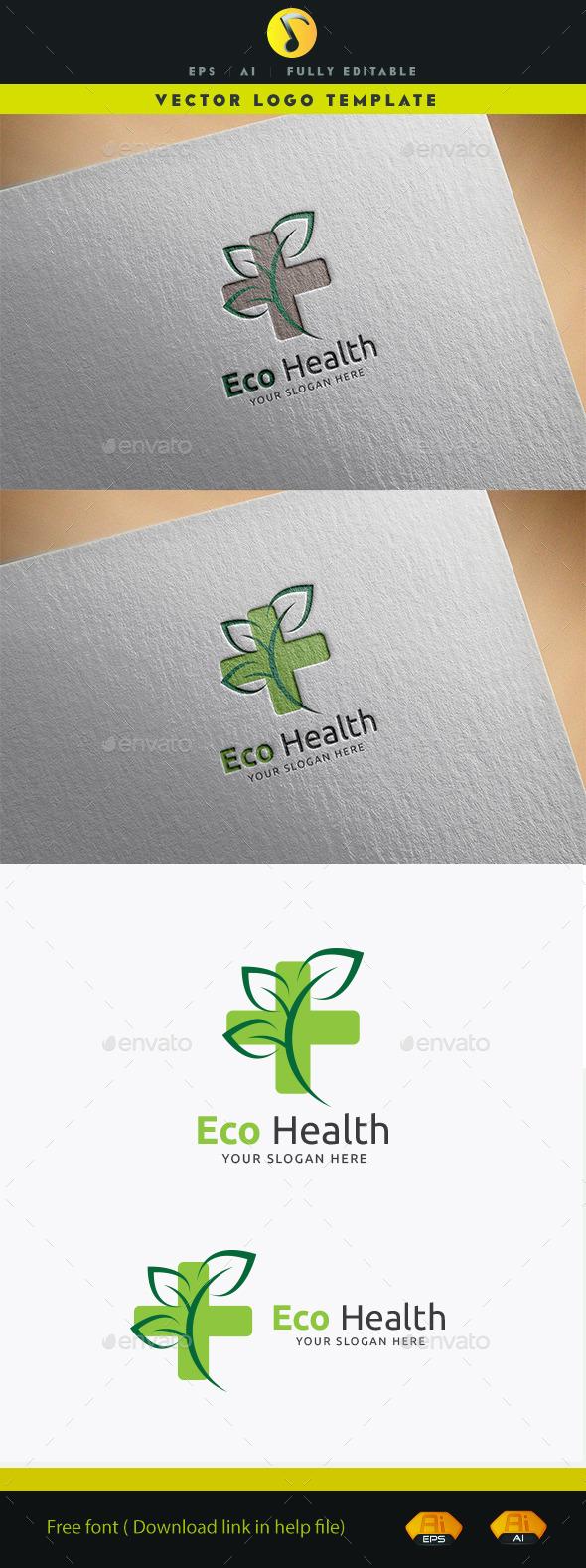 Eco Health - Nature Logo Templates