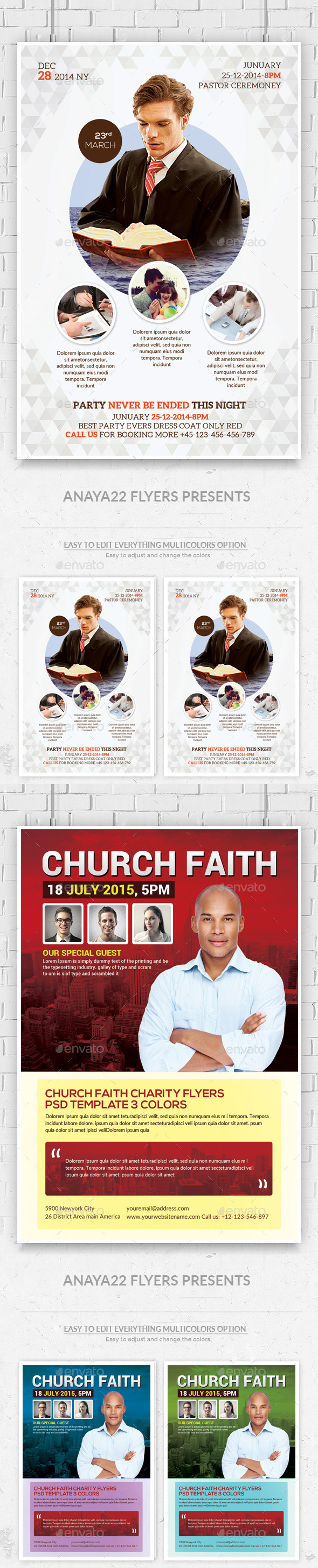 Church Flyers Bundle - Church Flyers