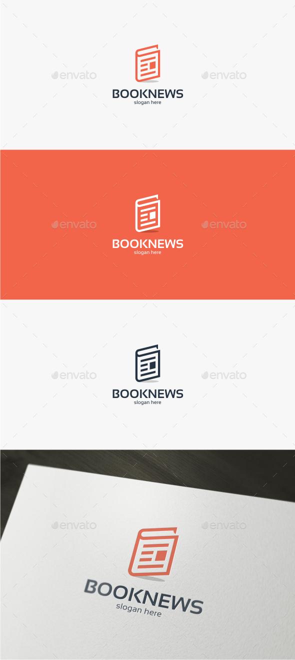 Book News - Logo Template - Symbols Logo Templates