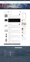 57 shop list layout sidebar.  thumbnail