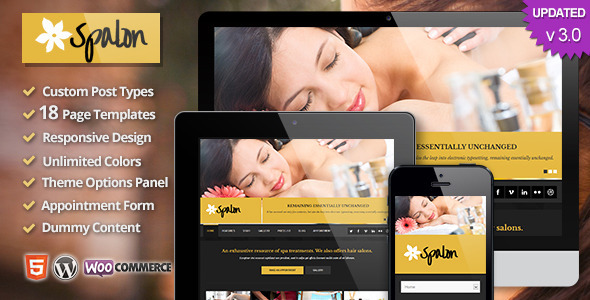 Spalon - Responsive WordPress Theme