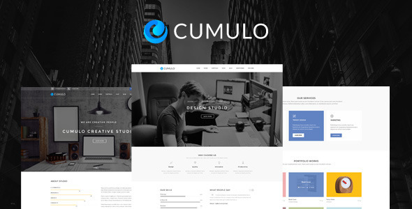Cumulo – Multi-Purpose PSD Template