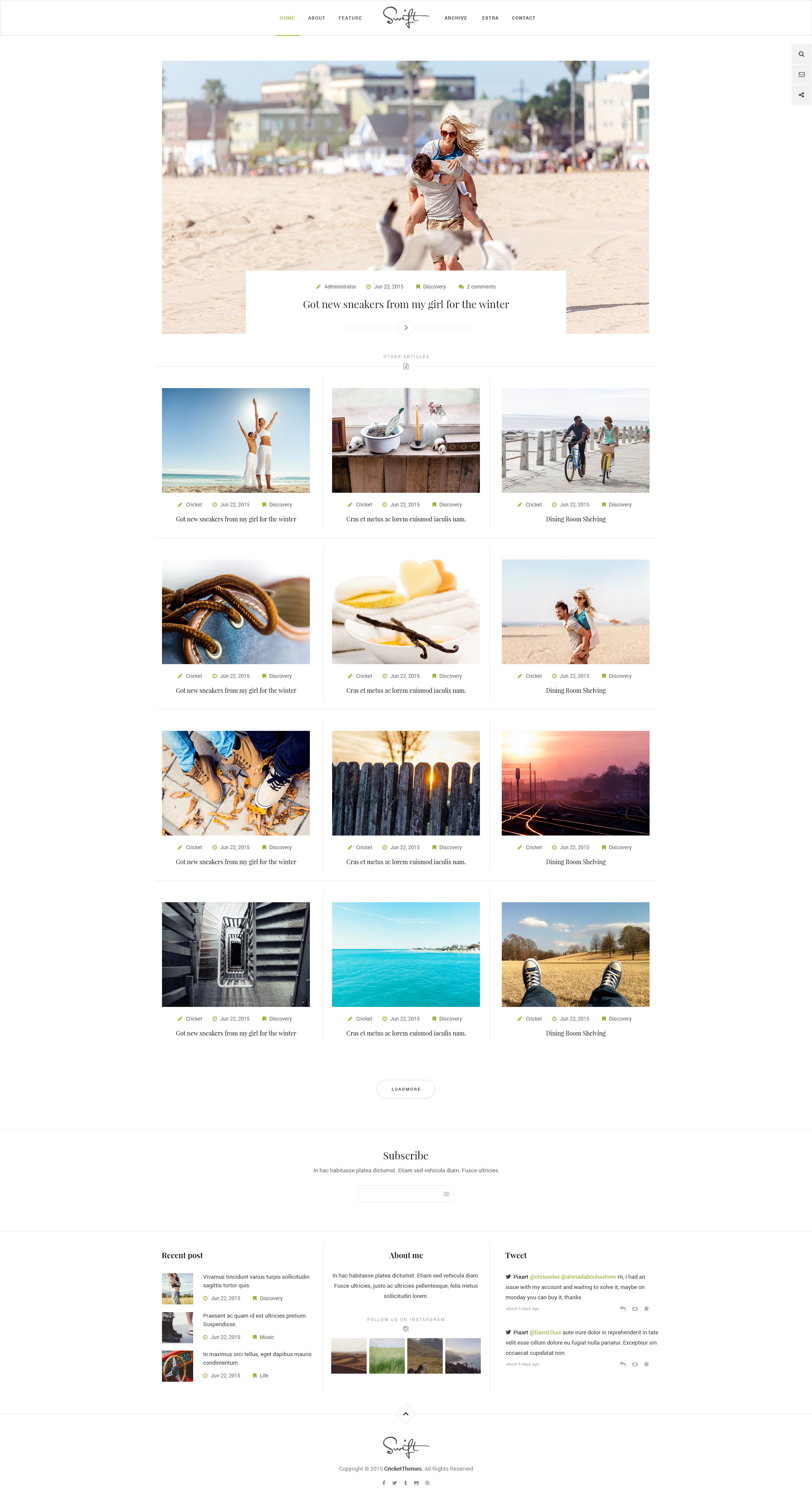Swift Design Template Themeforest