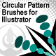 Illustrator Circular Pattern Brushes - GraphicRiver Item for Sale