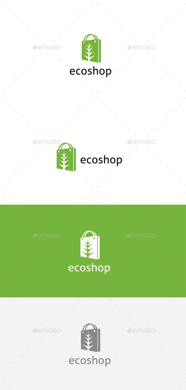 Eco Shop - Logo Templates