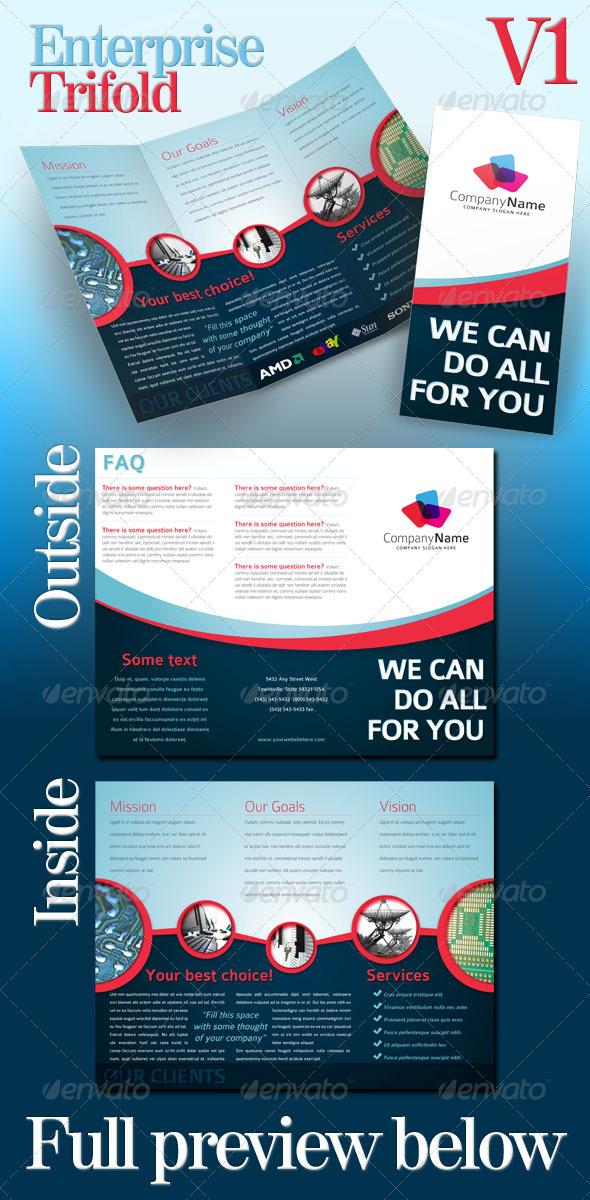 Enterprise Trifold - v01 - Corporate Brochures