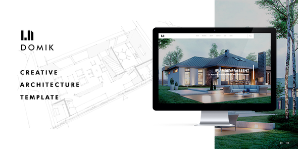 Domik – Creative Responsive Architecture WP Theme