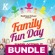 Family Fun Day Flyer Bundle - GraphicRiver Item for Sale