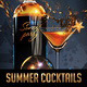 Summer Cocktails Party Flyer - GraphicRiver Item for Sale