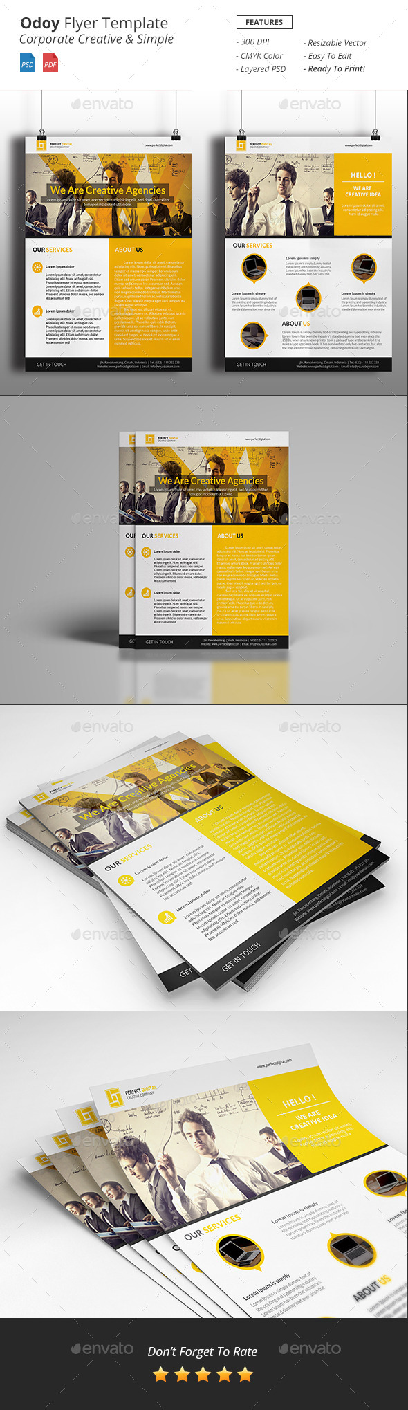 Odoy - Corporate Flyer - Corporate Flyers