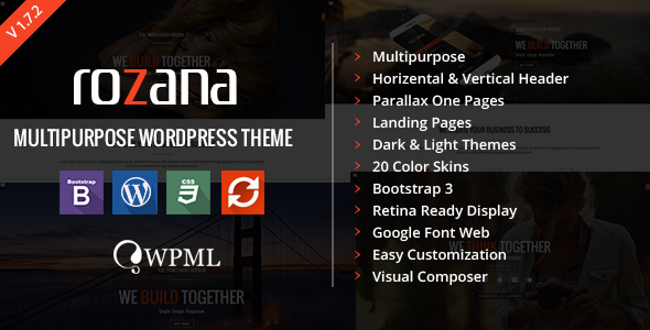 Rozana – Responsive MultiPurpose WordPress Theme