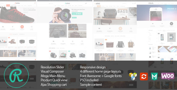 Raboda – eCommerce Responsive WordPress Theme
