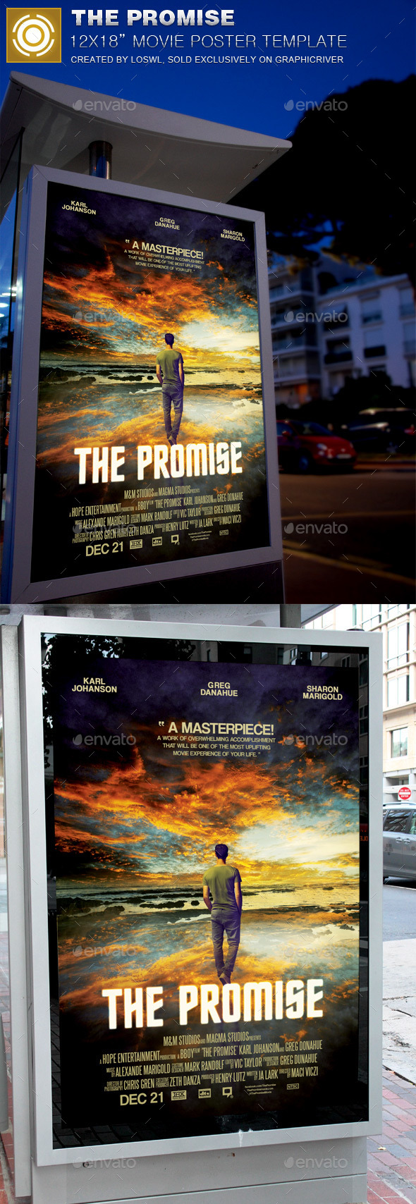 The Promise Movie Poster Template - Church Flyers