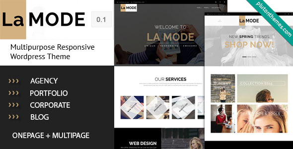 La Mode – Multipurpose WordPress Theme