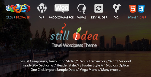 Stillidea – Travel Tour Multipurpose WP Theme