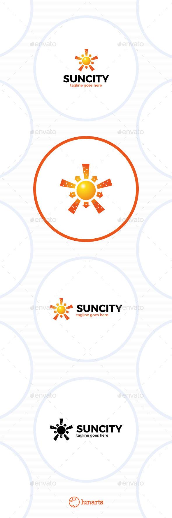 Sun City Logo - Star Town