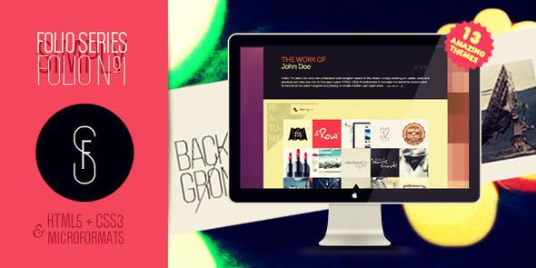 Folio Nº1 - One page creative portfolio - Portfolio Creative