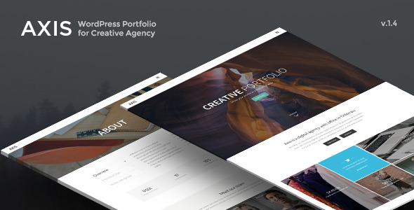 Axis – WordPress Portfolio for Creative Agency
