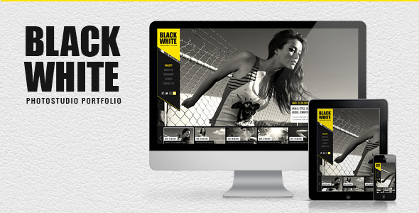 Black&White – Responsive Photo Portfolio