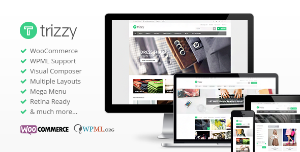 Trizzy – Multi-Purpose WooCommerce WordPress Theme