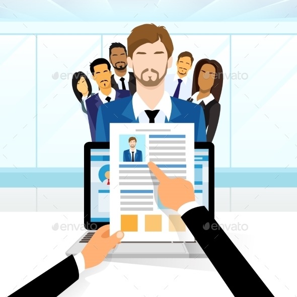 Curriculum Vitae Recruitment Candidate Job - People Characters